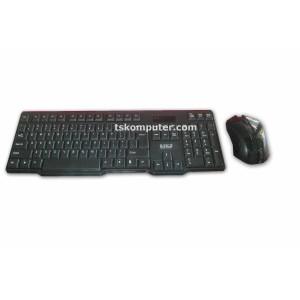 Paket Keyboard dan Mouse m-tech wireless