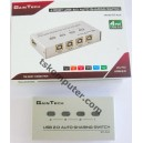 4 Port USB Switch Printer Auto - Gaintech