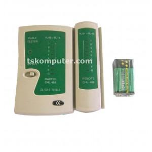 LAN Tester RJ45 dan RJ11 Kabel Jaringan