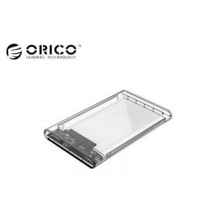 "Casing HDD Laptop External Transparan Orico 2.5"" USB 3.0"