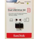 Flasdisk OTG Sandisk 32GB USB 3,0