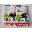 Micro SD Sandisk Ultra 16GB up to 80mb/s class 10