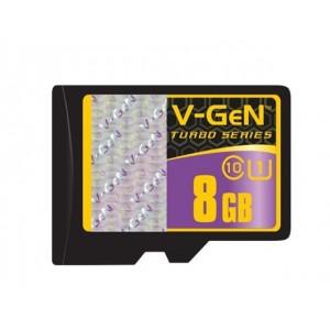Micro SD V-gen 8 Gb Class 10 plus