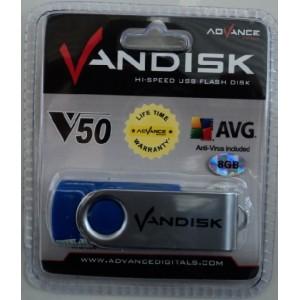 Flashdisk Advcance Vandisk 8 Gb